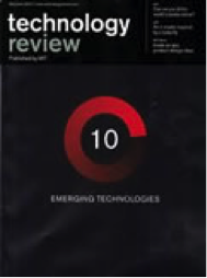Technology Review Award MIT